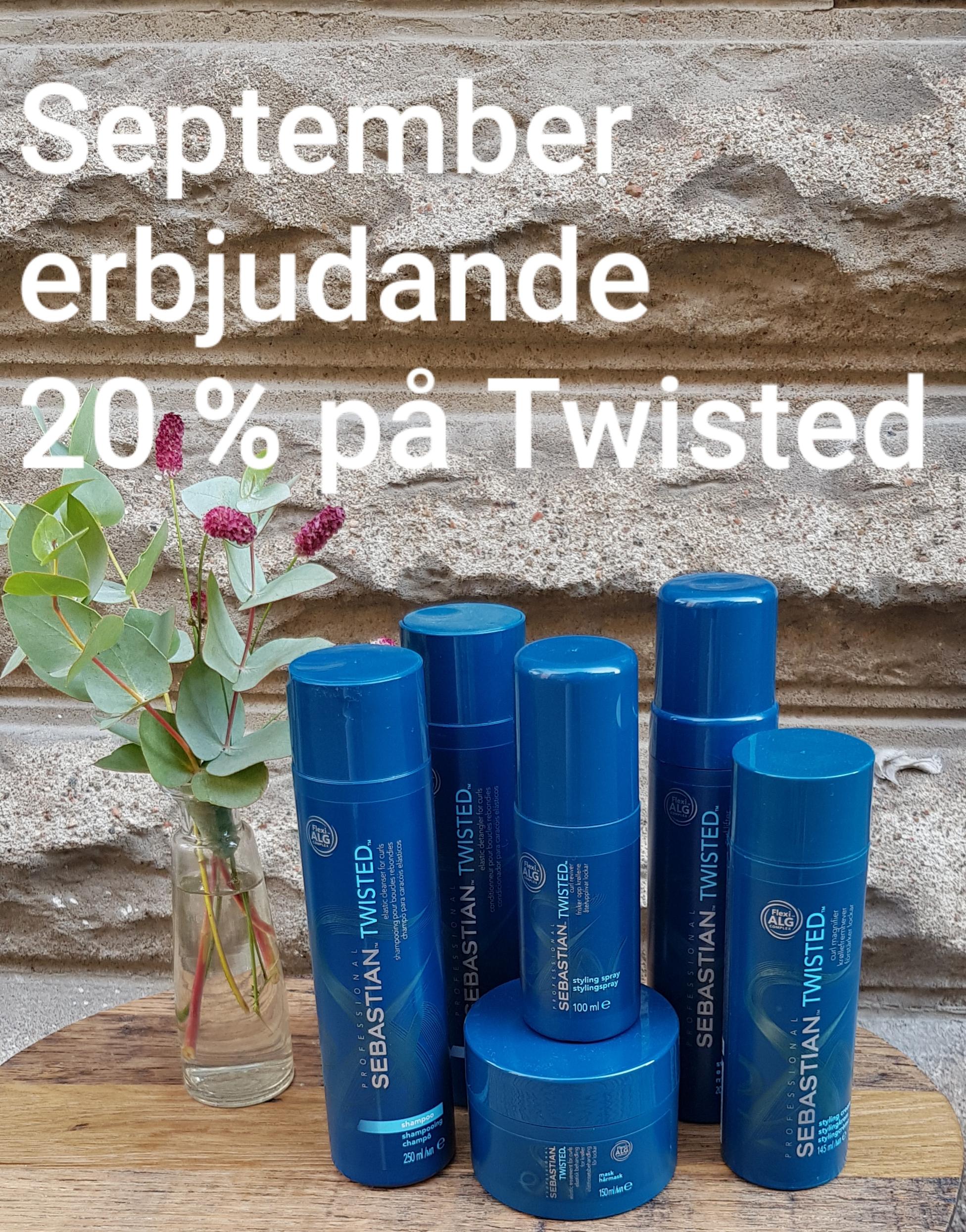 Sebastian - Twisted Produkter för lockigt hår . Shampoo, conditioner, hårmask samt stylingprodukter